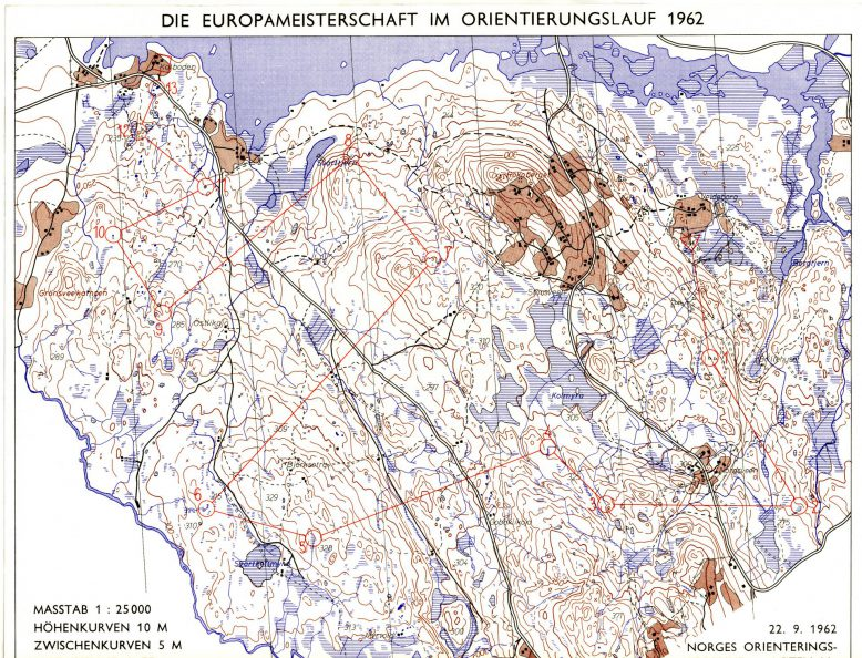 EM 1962: Herreløypa 16,5 km
