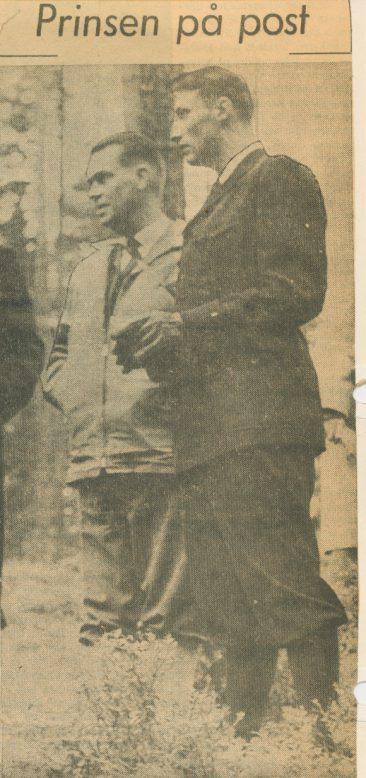 EM 1962: Kronprinsen på post