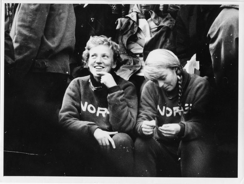EM 1962: Lillis Kielland og Babben Enger