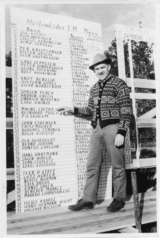 EM 1962: Løpsleder Ole P. Myrli