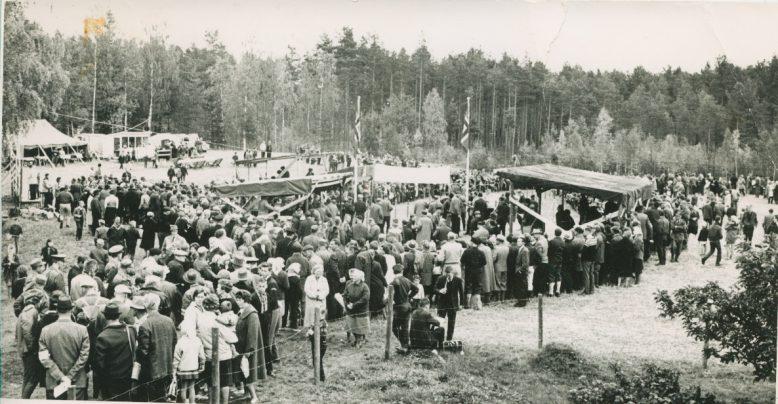 EM 1962: Målområdet i Kolboden