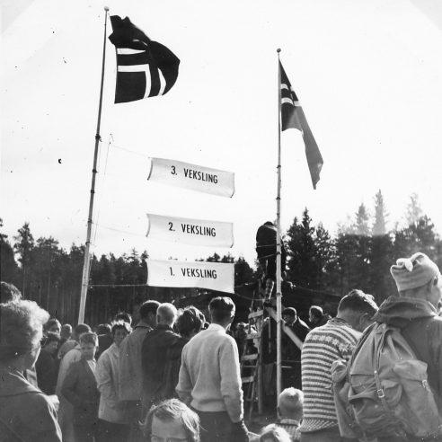 EM 1962: Stafettveksling
