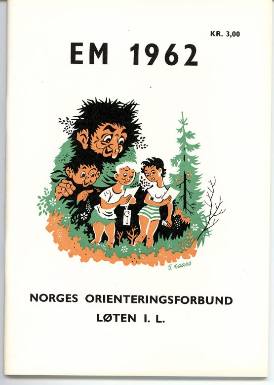EM 1962: Forside program