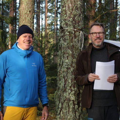 Svein Godager og Arvid Bratlie